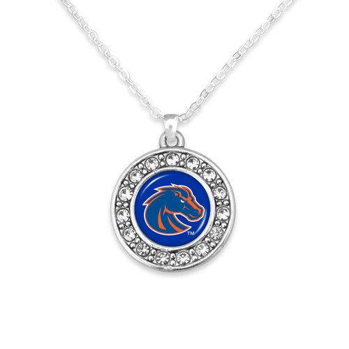 Boise State Broncos Abby Girl Necklace