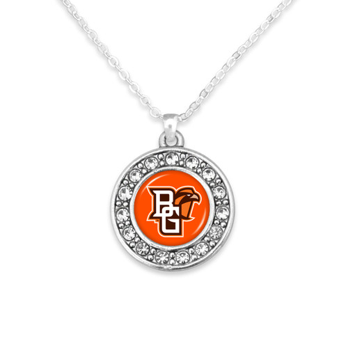 Bowling Green State Falcons Abby Girl Necklace