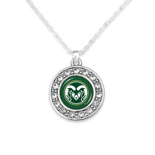 Colorado State Rams Abby Girl Necklace