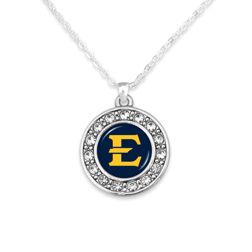 East Tennessee State Buccaneers Abby Girl Necklace