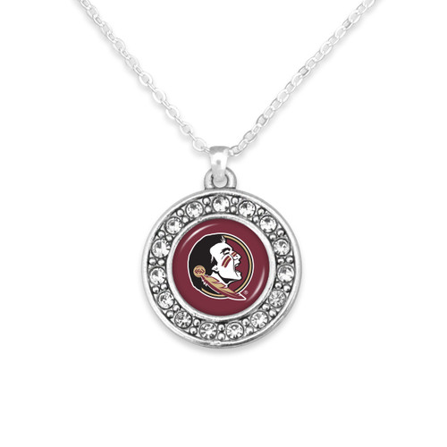 Florida State Seminoles Abby Girl Necklace