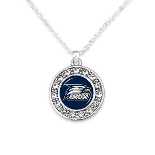 Georgia Southern Eagles Abby Girl Necklace