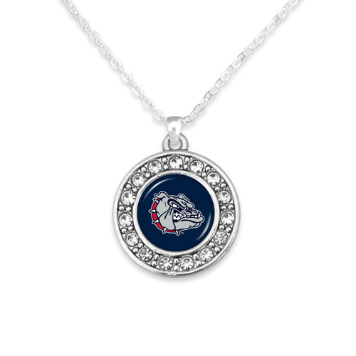 Gonzaga Bulldogs Abby Girl Necklace