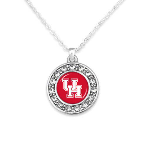 Houston Cougars Abby Girl Necklace
