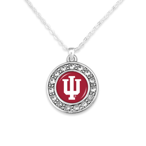 Indiana Hoosiers Abby Girl Necklace