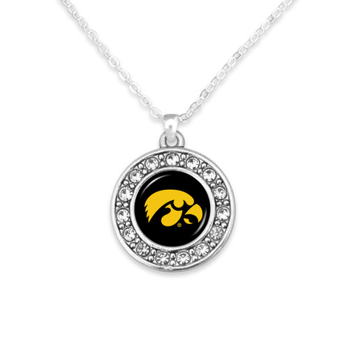 Iowa Hawkeyes Abby Girl Necklace