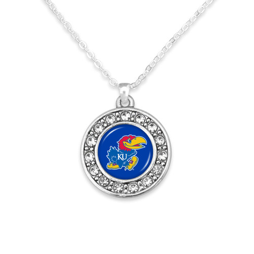 Kansas Jayhawks Abby Girl Necklace