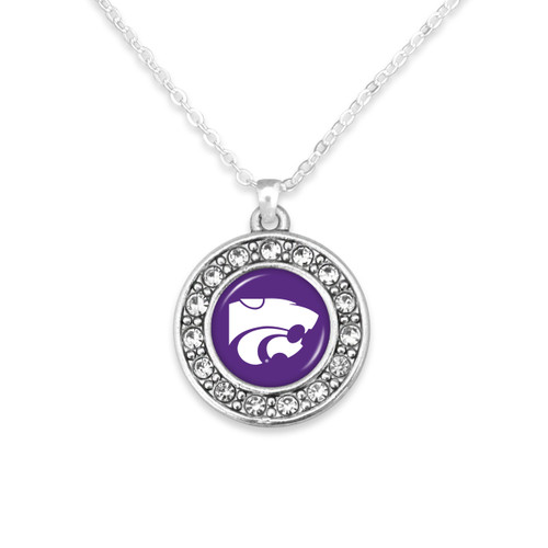 Kansas State Wildcats Abby Girl Necklace