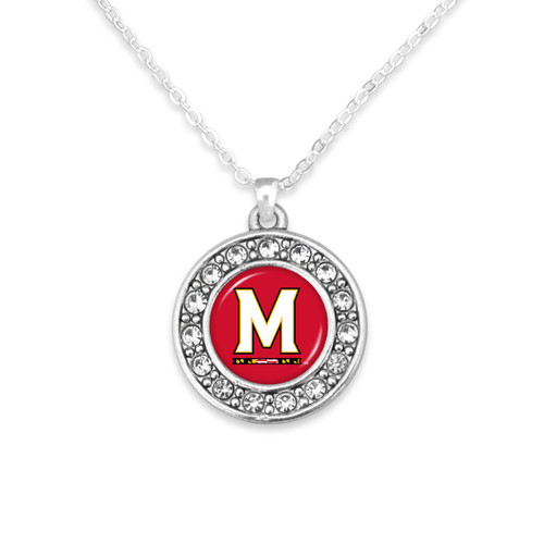 Maryland Terps Abby Girl Necklace