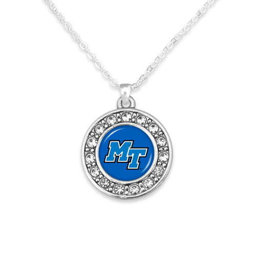 Middle Tennessee State Raiders Abby Girl Necklace