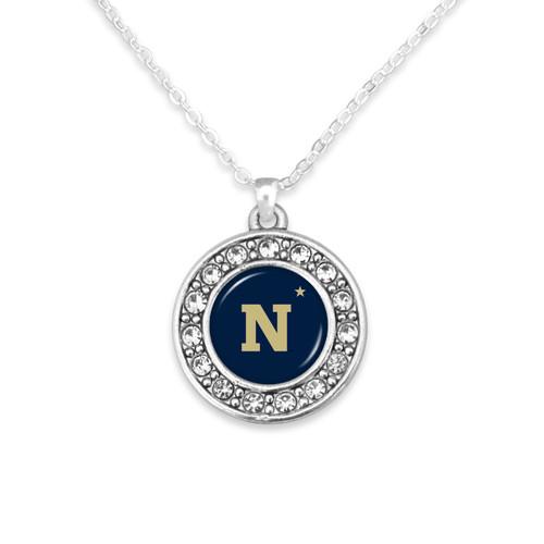 Naval Academy (Navy) Midshippmen Abby Girl Necklace