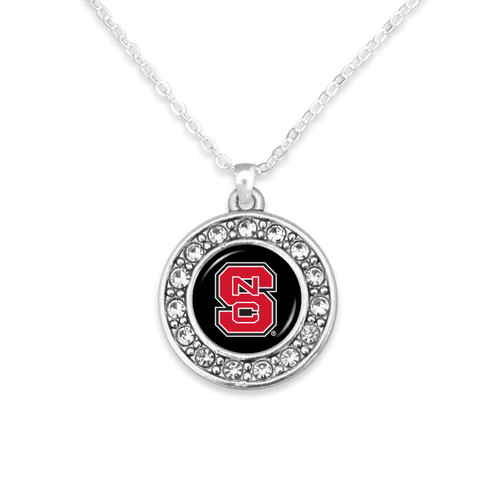 NC State Wolfpack Abby Girl Necklace
