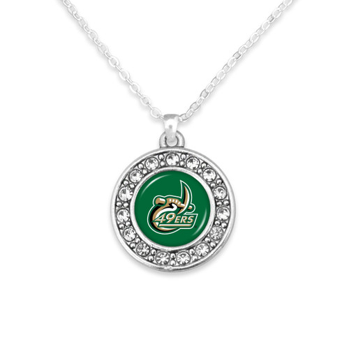 North Carolina- Charlotte 49ers Abby Girl Necklace
