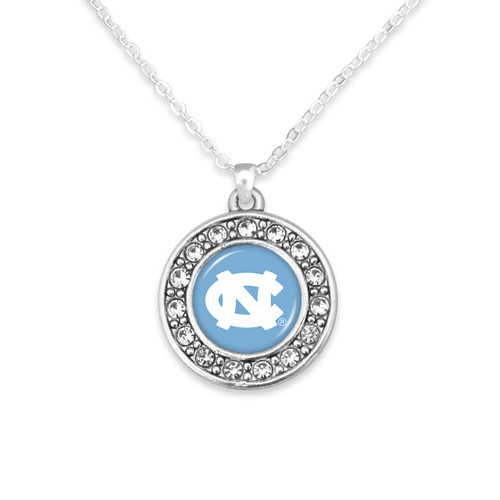 North Carolina Tar Heels Abby Girl Necklace