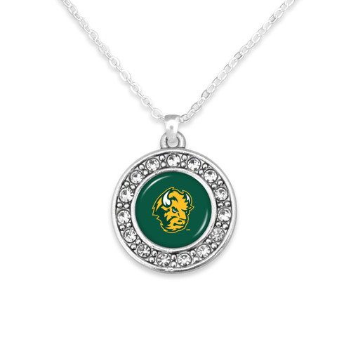 North Dakota State Bison Abby Girl Necklace