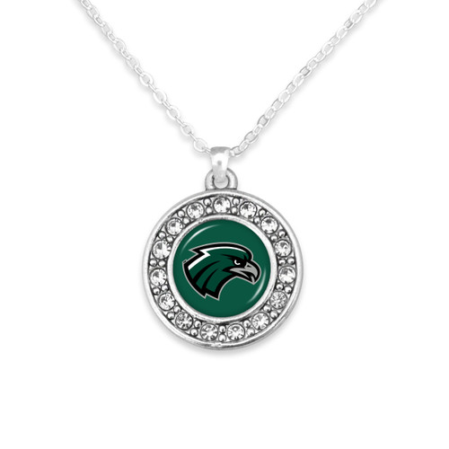 Northeastern State Riverhawks Abby Girl Necklace