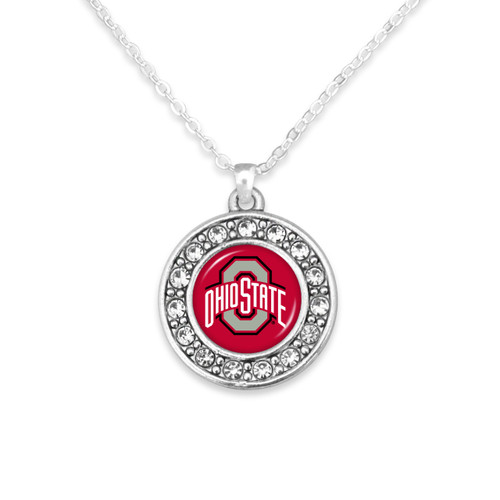 Ohio State Buckeyes Abby Girl Necklace