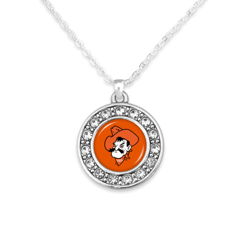 Oklahoma State Cowboys Abby Girl Necklace