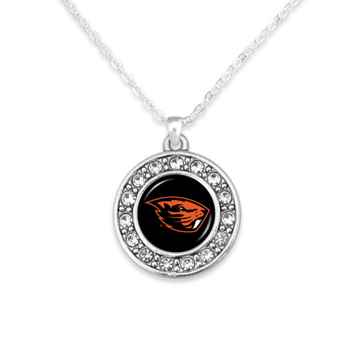 Oregon State Beavers Abby Girl Necklace