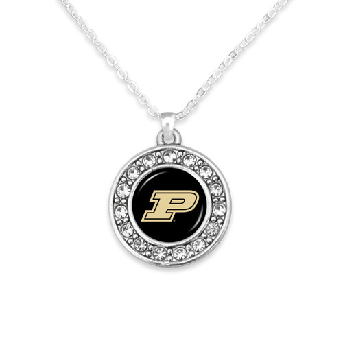 Purdue Boilermakers Abby Girl Necklace