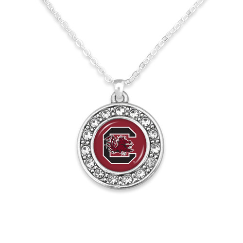 South Carolina Gamecocks Abby Girl Necklace