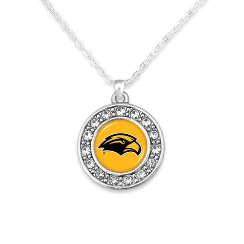 Southern Mississippi Golden Eagles Abby Girl Necklace