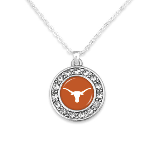 Texas Longhorns Abby Girl Necklace