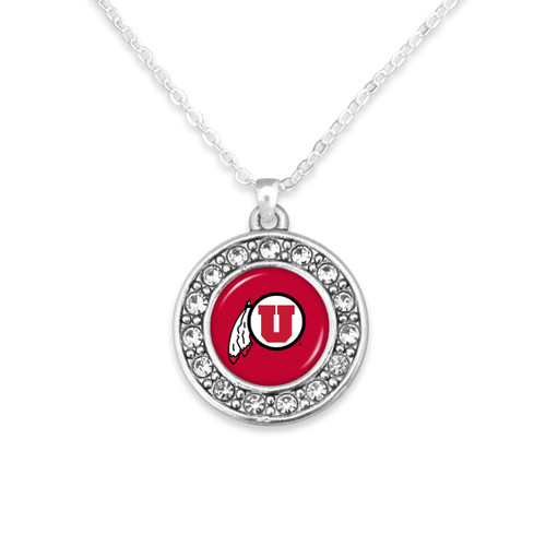 Utah Utes Abby Girl Necklace