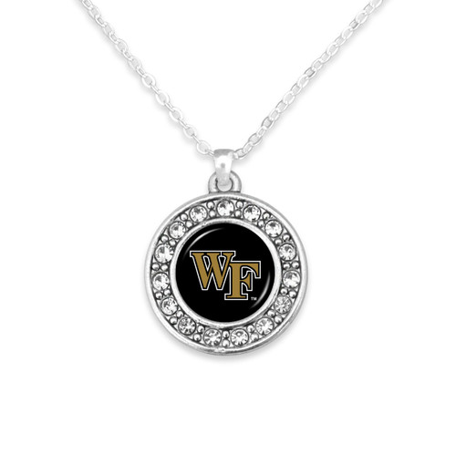 Wake Forest Demon Deacons Abby Girl Necklace