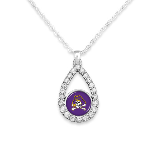 East Carolina Pirates Haleys Necklace