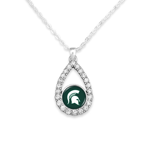 Michigan State Spartans Haleys Necklace