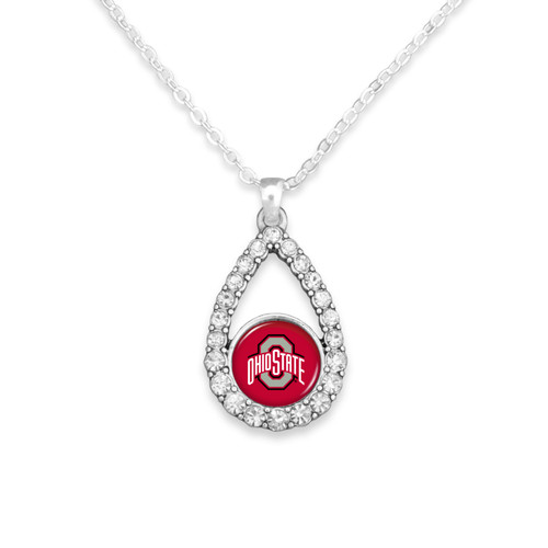 Ohio State Buckeyes Haleys Necklace
