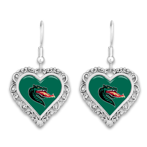 Alabama-Birmingham Blazers Lace Trim Earrings