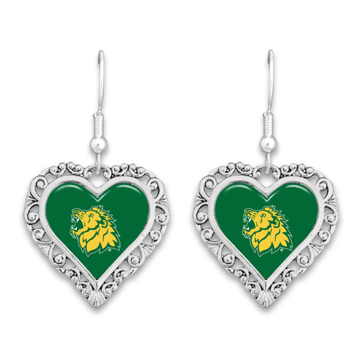 Missouri Southern State Lions Lace Trim Earrings