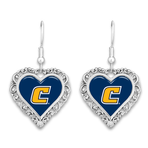 Chattanooga (Tennessee) Mocs Lace Trim Earrings