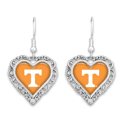 Tennessee Volunteers Lace Trim Earrings