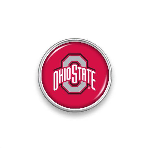 Ohio State Buckeyes Snap Button- Primary Logo