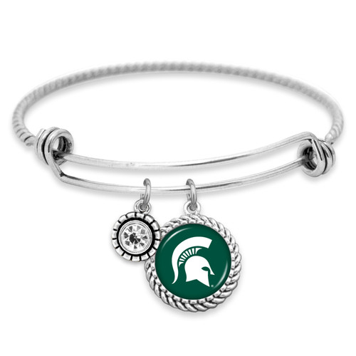 Michigan State Spartans Bracelet- Olivia