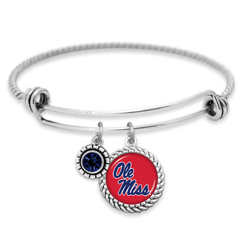 Ole Miss Rebels Bracelet- Olivia