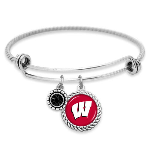 Wisconsin Badgers Bracelet- Olivia