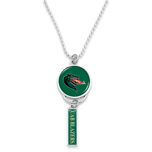 Alabama-Birmingham Blazers Car Charm- Logo with Trifecta Bar/Nameplate