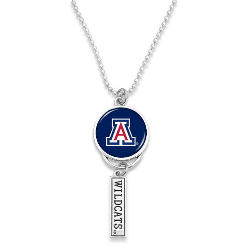 Arizona Wildcats Car Charm- Logo with Trifecta Bar/Nameplate