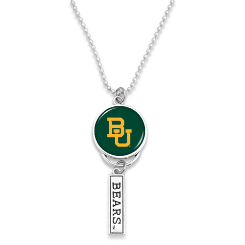 Baylor Bears Car Charm- Logo with Trifecta Bar/Nameplate
