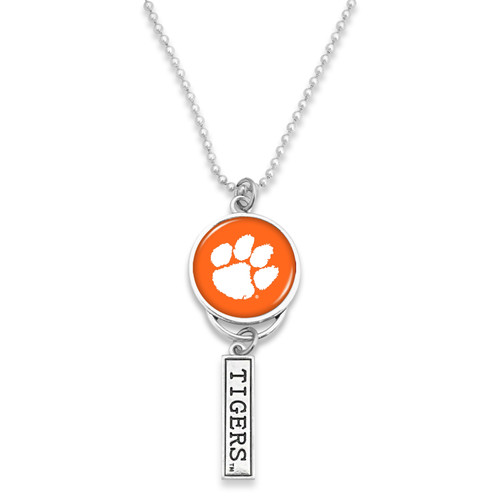 Clemson Tigers Car Charm- Logo with Trifecta Bar/Nameplate