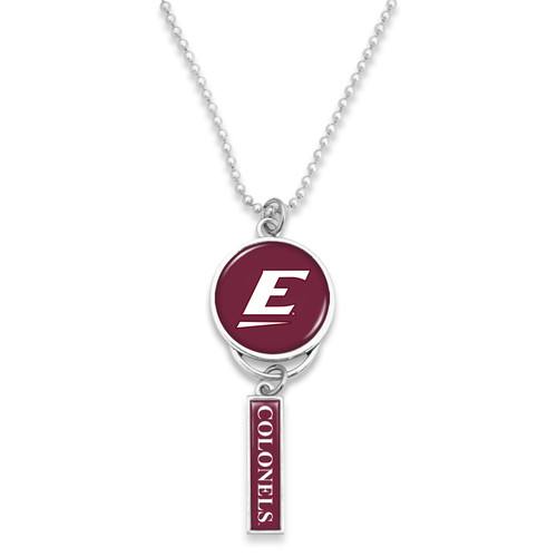 Eastern Kentucky Colonels Car Charm- Logo with Trifecta Bar/Nameplate