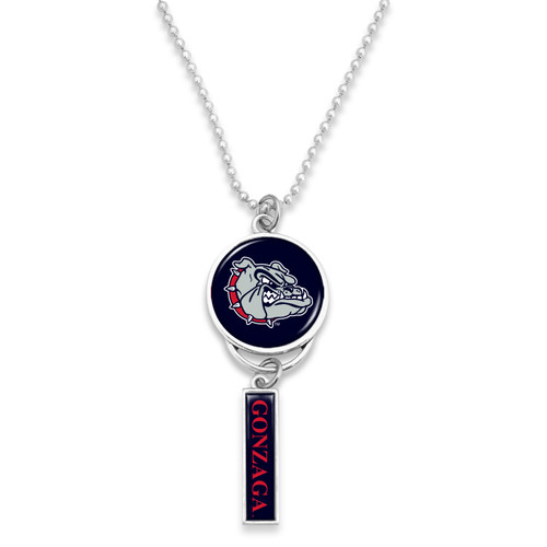 Gonzaga Bulldogs Car Charm- Logo with Trifecta Bar/Nameplate