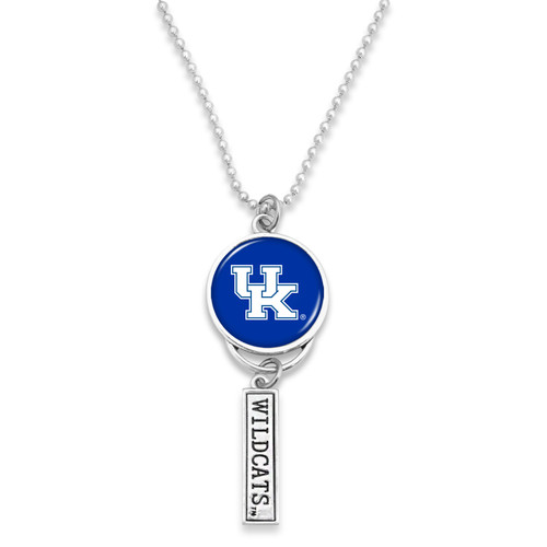 Kentucky Wildcats Car Charm- Logo with Trifecta Bar/Nameplate