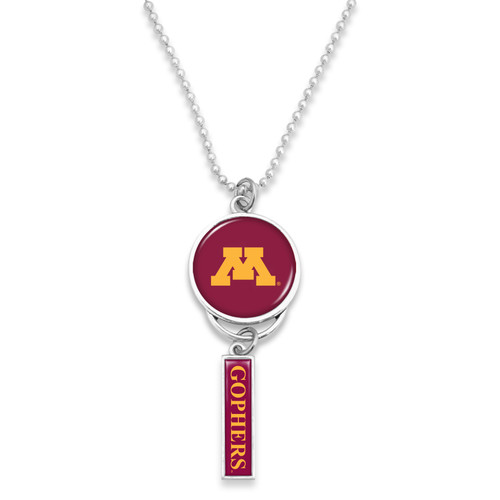 Minnesota Golden Gophers Car Charm- Logo with Trifecta Bar/Nameplate