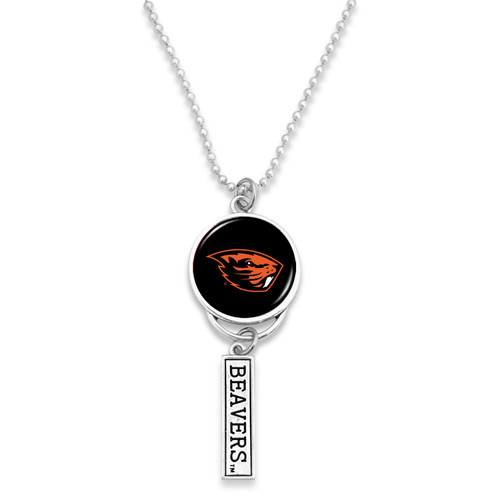 Oregon State Beavers Car Charm- Logo with Trifecta Bar/Nameplate