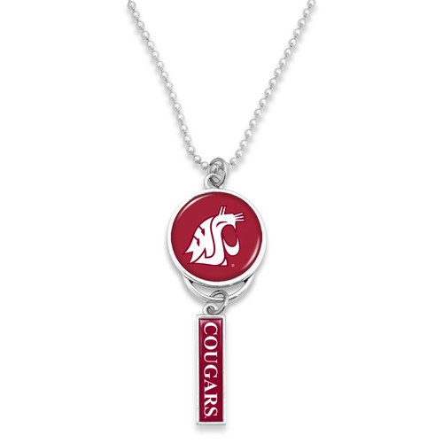 Washington State Cougars Car Charm- Logo with Trifecta Bar/Nameplate